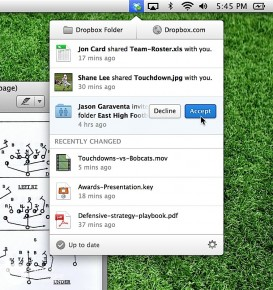 Dropbox 新桌面程式 檔案分享更簡易