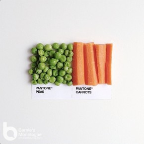 Instagram 食物 Pantone Mix & Match (Pantone Pairings)