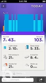 Jawbone UP 手環 睡眠,運動,飲食健康全記錄