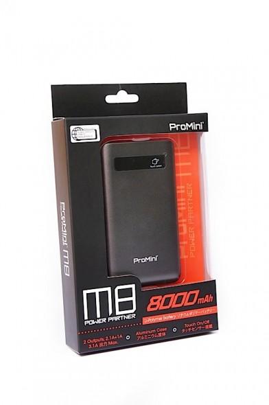 手機外接電源也要講究 實戰高用量 (Promini M8)