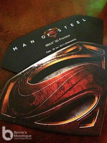 超人就是入場的理由 《超人: 鋼鐵英雄》 (Man of Steel)