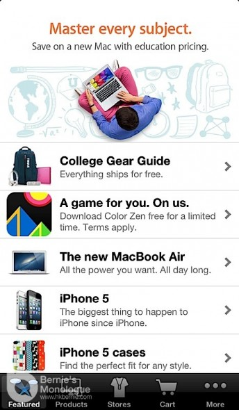 Apple Store App 開學推廣送禮! (Color Zen)