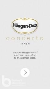 雪糕解凍iPhone App! (Häagen-Dazs Concerto Timer App)
