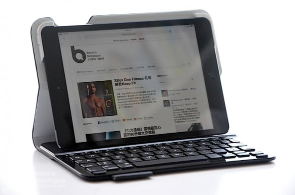 iPad Mini 輕薄鍵盤Short-cut齊存 (Logitech Ultrathin Keyboard Folio)