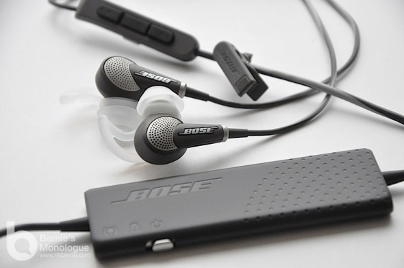 降噪耳機也輕薄 (Bose QC20 / QC20i 耳機)
