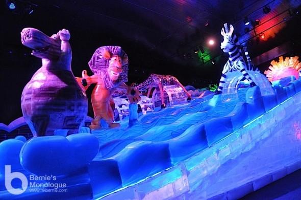 -8度極寒體驗功夫熊貓冰雕展 (澳門威尼斯人「體驗夢工場• 冰之世界」)