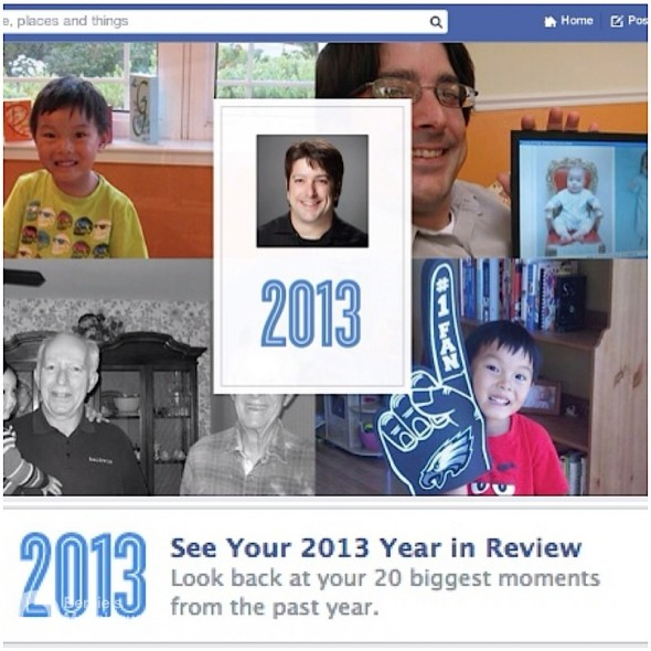 屬於你的,也八卦朋友的2013 Facebook 大事回顧 (Facebook 2013 Year In Review)