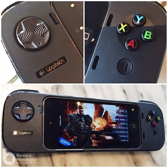 為iPhone Game而生遊戲手掣! [Logitech  iPhone 遊戲控制器 Powershell Controller and Battery]
